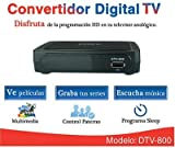 Convertidor Digital COBY DTV-800
