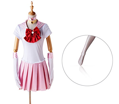 Sailor Moon Costumes For Adults (COSFAN Sailor Moon Chibi Kid and Adult Unisex Cosplay Costume(XL) FBA)