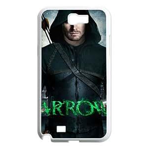 T-TGL(RQ) Print your own photo phone Case for Samsung Galaxy Note 2 N7100 cheap Green Arrow case