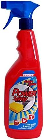 Baño limpiadores reinex iony spray extra fuerte 750 ml para quitar sin esfuerzo de cal y jabones magulladuras: Amazon.es: Electrónica