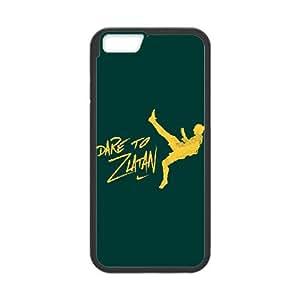dare to zlatan green sports art iPhone 6 Plus 5.5 Inch Phone Case YSOP6591482619919