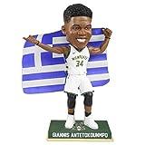 Giannis Antetokounmpo Milwaukee Bucks Greek Flag