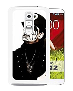Beautiful Designed Cover Case With King Diamond Face Hat Image Makeup (2) For LG G2 Phone Case