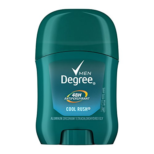 Degree Men Original Protection Antiperspirant Deodorant, Cool Rush, 0.5 Oz
