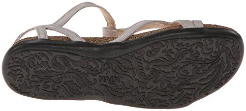 Naot Womens Dorith Leather Sandals Quartz