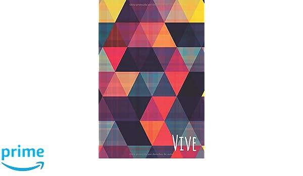 Amazon.com: Vive: Libreta o Cuaderno con 100 páginas en ...