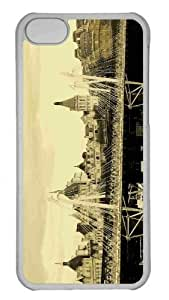 Customized iphone 5C PC Transparent Case - Tower Bridge London 3 Personalized Cover
