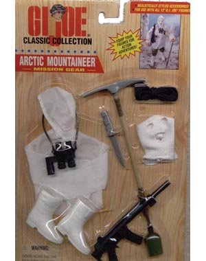 Gear Mission Joe Gi (Hasbro 1996 GI Joe Arctic Mountaineer Mission Gear for 12 inches figure)
