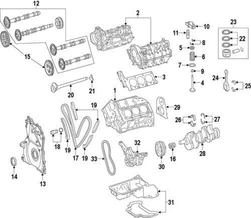 Engine Camshaft Mercedes-Benz 642 050 35 01