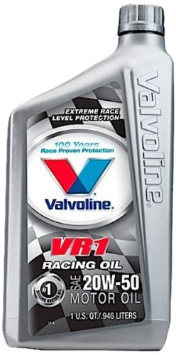 valvoline-vr1-sae-20w-50-racing-motor-oil-1-quart-bottle-case-of-6-822347-6pk