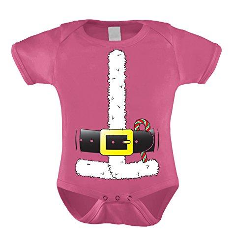 Santa Claus Costume Infant Bodysuit (Pink, 24 Months)