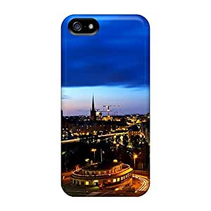 Defender Case With Nice Appearance (city Nightime) For Iphone 5/5s by Maris's Diary