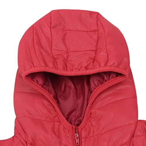 Piumino Casual Slim Mode Manica Giacca Donna Packable Autunno Piumini Moda Marca Fit Di Outwear Eleganti Lunga Trapuntata Incappucciato Ultralight Rot Invernali rw1rIzqax