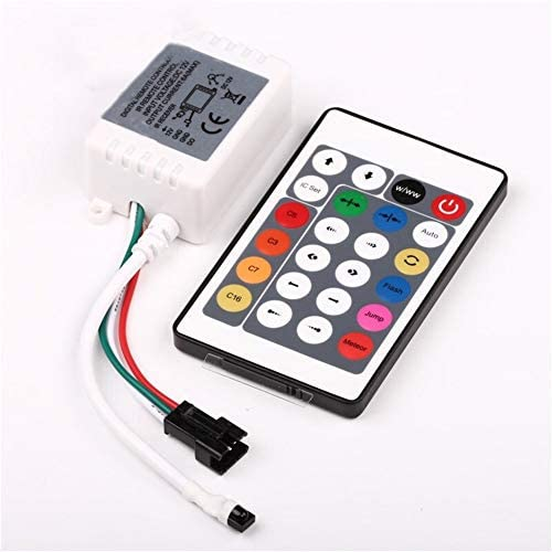 Led Schraube Glühlampe WS2811SK6812 Mini-RF24-Taste mit Controller magischen Licht Fernbedienung Licht Infrarot mit 12V bunter voller Farbe