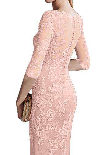 Spitze Promkleid Ausschnitt Rosa V Ivydressing Traumhaft Damen Festkleid Mermaid Partykleid Abendkleid P6xya4