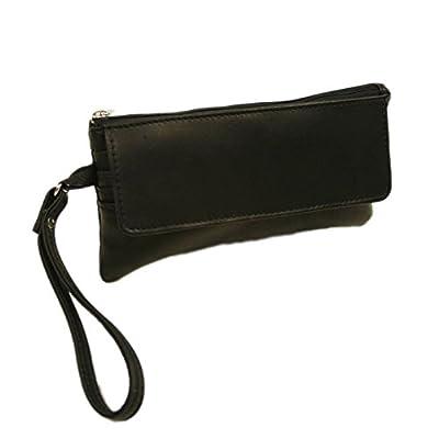 Piel Leather Flap-Over Wristlet