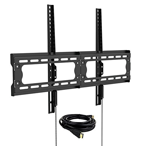 loctek-f7m-low-profile-fixed-tv-wall-mount-bracket-with-vesa-patterns-up-to-600-x-400-and-max165lbs-