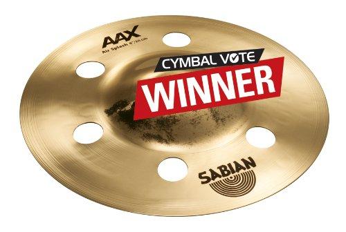 Sabian 20805XAB 8-Inch AAX Air Splash Effect Cymbal Sabian - Direct