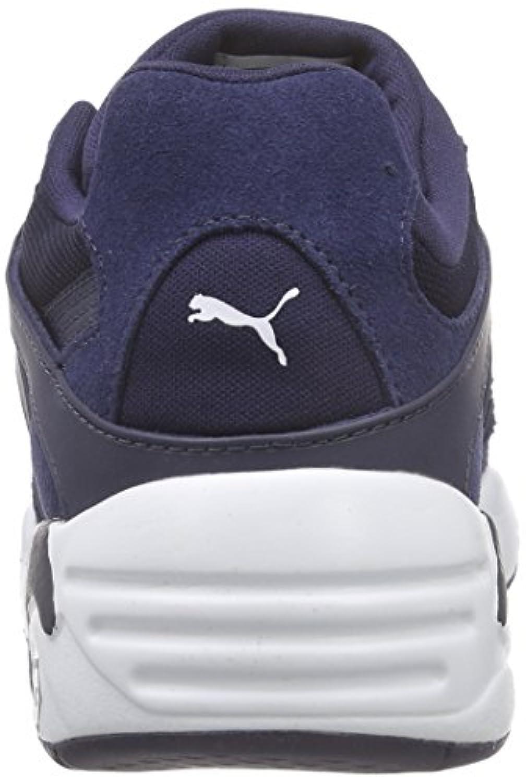 Puma Unisex Kids' Blaze Jr Low-Top Sneakers Blue Size: 1 UK