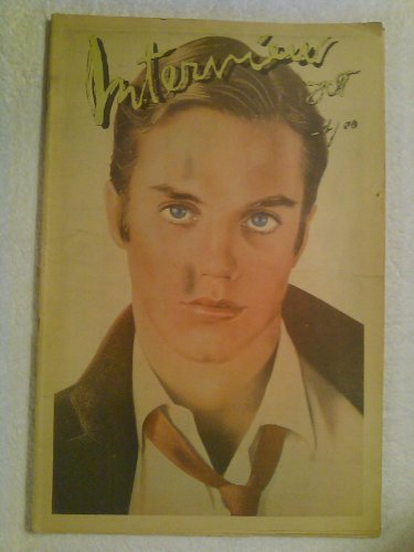 Interview Magazine Shaun Cassidy Front Cover VOL. VIII NO. 10 1978 by Andy Warhol