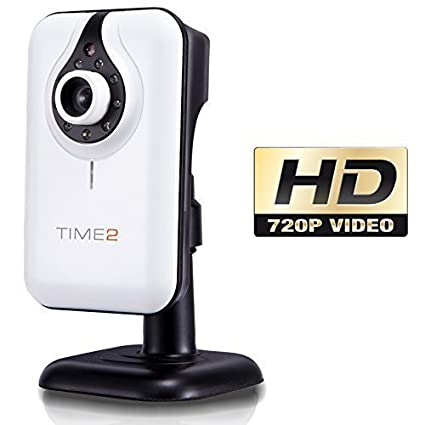 Time2® IP camara HD - IP Camera Wifi - Cámara de vigilancia (Visión nocturna
