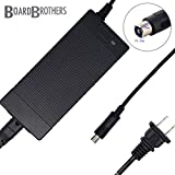 Official Board Bros Charger - Electric Scooter Charger for Bird Scooters, Lime Scooters, Compatible with Xiaomi Mijia m365, Segway Ninebot ES1 ES2 ES3 ES4 and Electisan Scooters