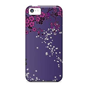 FCE759ZzgQ Butterfly Sparkle Trail Fashion Tpu 5c Case Cover For Iphone