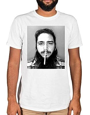 Ulterior Clothing Post Malone Cigarette T-Shirt 21 Savage White Iverson