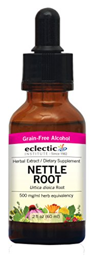 Eclectic Nettles Root O, Red, 2 Fluid Ounce - Nettle Root Testosterone
