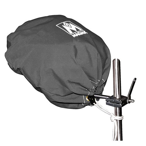 Magma Marine Kettle Grill Cover - Magma Grill Cover f/Kettle Grill Original Size Jet Black