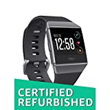 Fitbit Ionic Smartwatch, Charcoal/Smoke Gray, One Size (S & L Bands Included) (Certified Refurbished)