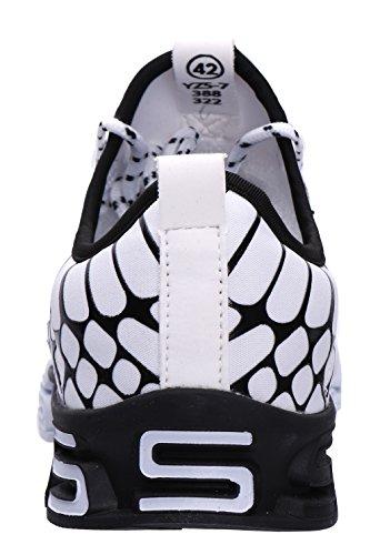 Chaussures Pour 20 De Blanc Hommes Course Couleurs 835 Mode Avec Joomra 45 Les 39 a6FqA
