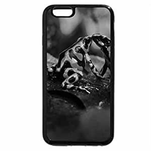 iPhone 6S Case, iPhone 6 Case (Black & White) - Slimy affection