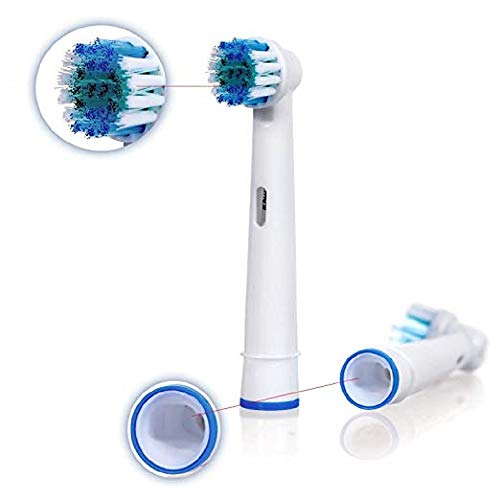 Generic Oral B Braun Compatible Electric Toothbrush Replacement Heads Brushes, 20 Pack of Brush Heads by Alayna (Image #3)