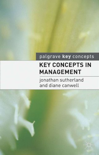 Key Concepts in Management (Palgrave Key Concepts)