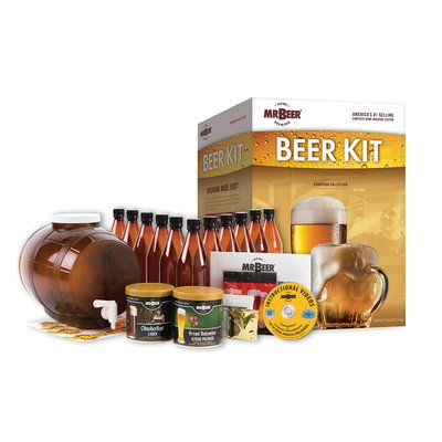 Kits Master Czech (Mr Beer European Bonus Brews Collection Complete Home Brewing Kit)