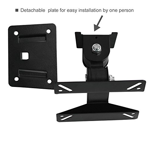 Universal Rotating Swivel Tilting LCD Monitor TV Bracket Wall Mount
