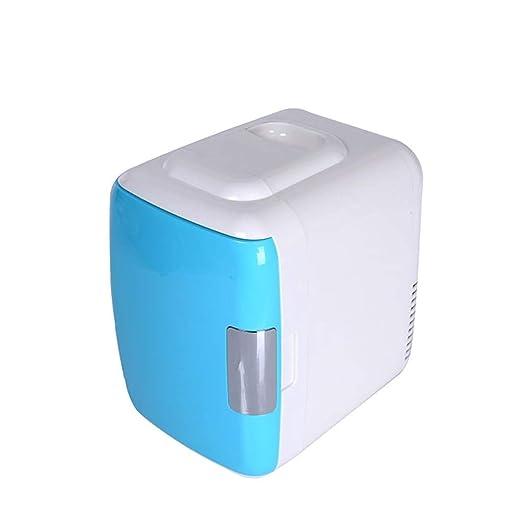 Mini nevera El refrigerador compacto portátil se enfría y calienta ...