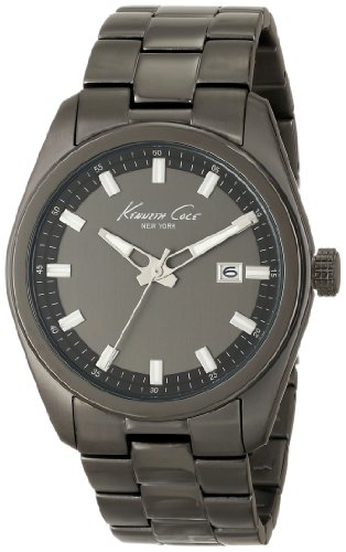 Kenneth Cole New York Men's KC9333 Classic Round Triple Black Bracelet Watch (Track Crown Safety)