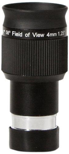 Olivon 58-Degree Field of View HD 1 1/4-Inch Eyepiece, Black, 4mm by Olivon