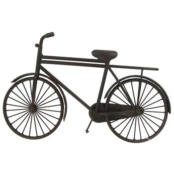 Black Iron Decorative Bicycle Home Decoration Theater Media Room Man Cave (Babe Rules Baseball Ruth)