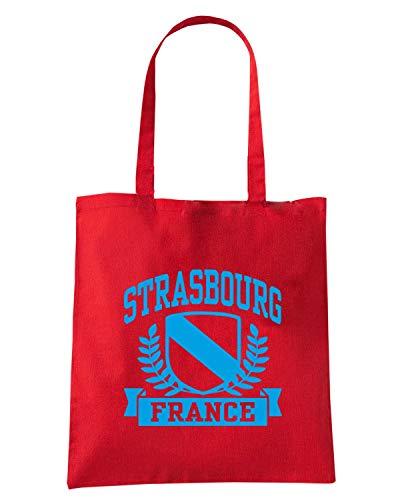 Speed Shirt Borsa Shopper Rossa TSTEM0253 STRASBOURG FRANCE