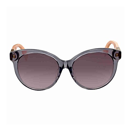Fendi - PEQUIN ASIAN FIT FF 0013/F/S, Cat Eye, acetate, women, GREY OCHRE POWDER/BROWN PLUM SHADED(7TE/K8 A), - For Women Fit Sunglasses Asian