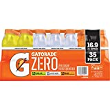 Image of Gatorade Zero Sugar Thirst Quencher Electrolytes Sports Drink Variety Pack - 35 Pack (16.9 oz)
