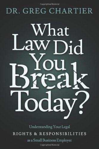 Which Law Did You Break Today?