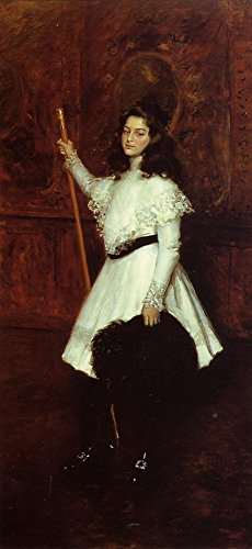 Baby Irene Four Poster (The Museum Outlet - Girl in White (aka Portrait of Irene Dimock), 1898-1901 - Canvas Print Online Buy (24 X 32 Inch))