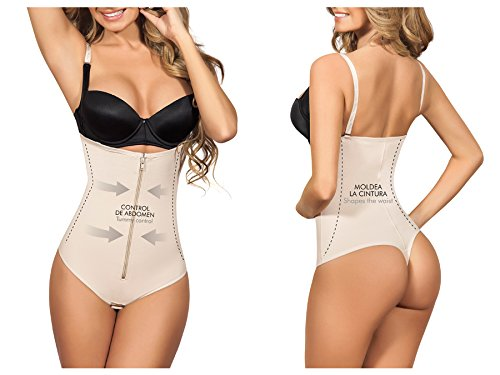 Moldeate 5003 Open Bust Body Shaper with Thong