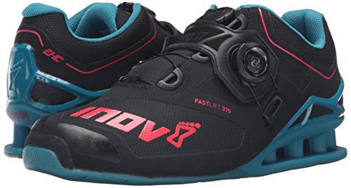 370 Chaussures Haltrophilie Turquoise Inov8 Fast Lift Noir Femmes Boa Baie TIwEBxvgBn