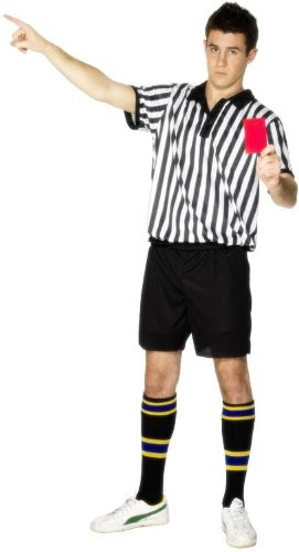 BOYS/KIDS REFEREE/FOOTBALL FANCY DRESS COSTUME AGES YEARS 6/8 YR  sc 1 st  Amazon UK & BOYS/KIDS REFEREE/FOOTBALL FANCY DRESS COSTUME AGES YEARS 6/8 YR ...