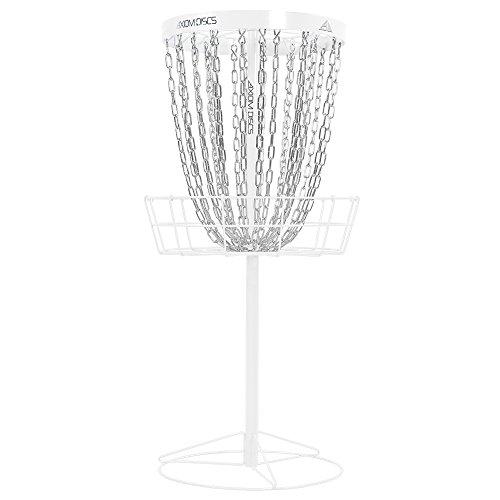 Axiom Discs Pro 24-Chain Disc Golf Basket - White (Minidisc Golf Basket)
